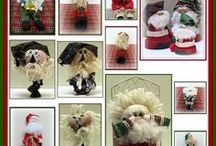 Christmas Craft Tutorials, Video's, Patterns and How-To's / I just love the Christmas season as there are so many different crafts you can make to give as gifts or decorate your house.  I hope you enjoy some of the Christmas crafts tutorials, video's and how-to's I have found.