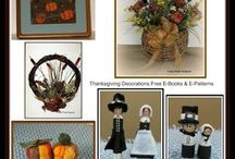 Thanksgiving Craft Tutorials, Video's, Patterns and How-To's / I just love Thanksgiving as there are so many different crafts you can make to decorate your house.  I hope you enjoy some of the Thanksgiving crafts tutorials, video's and how-to's I have found.