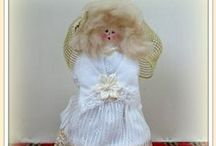 Angel Doll & Craft Tutorials, Video's, Patterns, and How-To's / I just love angels and angel creations.  If you do, too, I hope these tutorials, video's, patterns, and how-to's are helpful. / by Linda Walsh