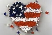 4th of July & Patriotic Tutorials, Video's. Patterns & How-To's / I just love patriotic crafts.  If you do, too I hope these tutorials, video's, patterns, & how-to's are helpful. / by Linda Walsh