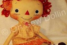 Primitive Doll Tutorials, Rag Doll & Folk-Art Tutorials Video's, Patterns, and How-To's / I fell in love with primitives, raggedies, rag dolls, and folk-art dolls over a decade ago.  If you would like to learn how to make them  I hope you find the tutorials, patterns, articles, projects, and how-to's helpful.