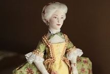 Victorian Dolls / I just LOVE everything and anything to do with the Victorian Era and especially love seeing and creating reproduction Victorian Dolls.  I can look at beautiful Victorian doll pictures for hours on end.  Here's a few of my favorites.