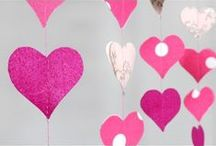 Valentine's Day Party, Decor & Gift Tutorials / DIY decor and handmade gift tutorial ideas for Valentine's Day, featuring fabric and favor bags from OnlineFabricStore. / by OnlineFabricStore