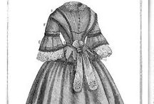 Victorian Clothing Patterns / I just love sewing Victorian outfits for my Victorian dolls and have always been interested as to their design.  I love looking at Victorian clothing patterns and seeing how they created their beautiful fashions.  If you do, too I hope you enjoy my Victorian Clothing Patterns pinterest board.