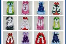 Custom Fabric Handmade Dolls & Crafts / I love designing custom fabric and love creating handmade dolls & crafts from my custom fabric designs.  I hope you like everything I've made. / by Linda Walsh