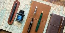 Travel notebooks / Carnets de voyage / Travel notebooks