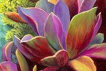 """Flowers & Gardening / """"All gardening is landscape painting.  ~ William Kent  / by Cindy Dadabo"""