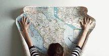 Maps / Cartes, plans, mappemondes, globes... Le voyage immobile.