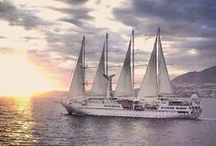 Windstar Cruises / A voyage on a Windstar Cruise feels like your own private yacht — luxurious amenities, gourmet cuisine, exceptional service and the world's most exotic and unique ports of call.