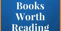 Books Worth Reading / Great books from all over, including self-published and indie authors.