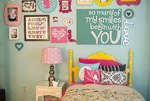 Home sweet home...Sadie's room / by Ka Biff