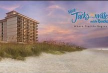 "Atlantic Beach Chic / With endless things to do and see, you won't be bored on your getaway to Northeast Florida. Also known as the ""Nantucket of the South,"" Atlantic Beach is known for its unique qualities featuring shingle-style mansions and cottages along Beach Avenue and Ocean Streets. / by One Ocean Resort & Spa"