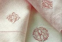 Monograms / by Caitlin Fisher {Daily Cup of Couture}