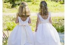 Flower girl dresses and accessories / Discover Little Eglantine Award winning designs to dress the most elegant and stylish flower girls - lovely flower girl dresses for stylish weddings!