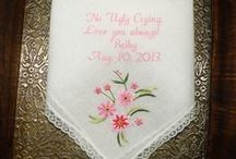No Ugly Crying Handkerchiefs Special Gifts for you BridesMaids