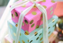 Pretty packaging & wrapping / by Peggy Simmons