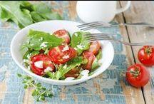 Summer Salads - Ensaladas de verano / ¿Te apetece una rica ensalada? Cocina con nosotras estas deliciosas recetas / by enfemenino