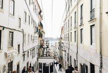 Lisbon near the ocean