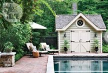 garden/backyard ideas / by jen woolston