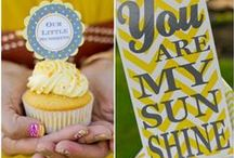 Sunshine Party Inspiration / by Sassaby Parties
