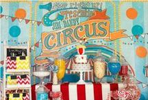 Vintage Circus Party Ideas / by Sassaby Parties