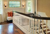 Foyers, stairs, hallways, doors & Entry / by Stacey C