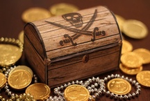 Pirate Party Ideas / May your Anchor be tight, your Cork be loose, your Rum be spiced and your Compass be true! Aaarrgh!