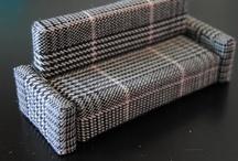 dúkkuhús, húsgögn (leiðbeiningar) / Furniture diy etc / by Kristín Kristjánsdóttir