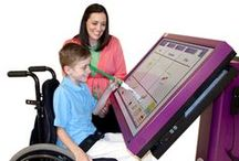 Assistive Technology for Children and Adolescents / Assistive technologies used with children and adolescents to promote and facilitate functional and independent performance in learning/education, social skills, communication, play, and work.   / by AT in OT