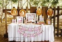 Cowgirl Party Ideas / by Sassaby Parties