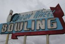 Bowl-O-Rama! / Vintage Bowling Alleys and Their Cool Signs