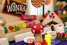"""Willy Wonka & the Chocolate Factory Party / """"We are the Music Makers, and we are the Dreamers of the Dreams"""". - Willy Wonka"""