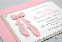 Ballerina Party Ideas / by Sassaby Parties