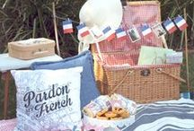 French Picnic Ideas / Get yourself some Macarons & Champagne and enjoy a divine French picnic! Pourquoi Pas?