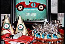 Vintage Racing Car Party