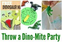 Dinosaur Party Ideas / by Sassaby Parties