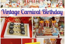 Vintage Carnival Party Ideas