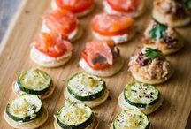 Finger Food! / What's a Party without great appetizing Finger Foods?