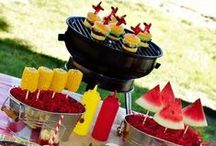 Barbeque! / Host a stylish BBQ any time of the year with these great tips, recipes & ideas!