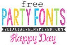Fonts & Techie Freebies