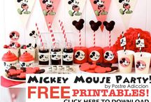Free Party Printables / A fabulous selection of gorgeous Party Printables, and all absolutely Free!