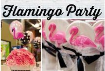 Flamingo Party Ideas / by Sassaby Parties