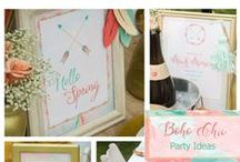 Boho Chic Party Ideas / by Sassaby Parties