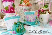 "Mad Hatter Tea Party Ideas / ""We're all Mad here""...Go mad at your very own Mad Hatter's Tea Party with these great ideas!"