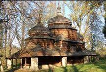 Cerkwie i koscioły/ Podkarpacie