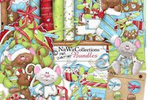 Nitwit~Merry Christmouse / Nitwit Collections