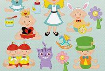 ❤️  Alice in Babyland / JW Illustrations™