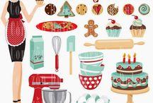 ❤️ Baking / Corazón Dulce