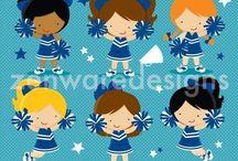 ❤️ Go Blue! / Zenware Designs