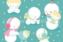❤️ Snow Baby / Zenware Designs